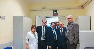 Donazione di elettromedicali alla ASL RM/F da parte di Federsalute e Anaste