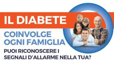 14 novembre 2018 Giornata Mondiale del Diabete