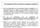 Provvedimenti AIFA su farmaci contenenti ranitidina