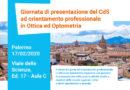 L'università degli Studi di Palermo inaugura il nuovo corso di laurea in Ottica e Optometria