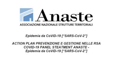 ANASTE: action plan in 12 punti sulla prevenzione e gestione nelle RSA dell'epidemia da CoViD-19