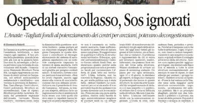 Quotidiano del Sud: ANASTE Campania lancia l'allarme