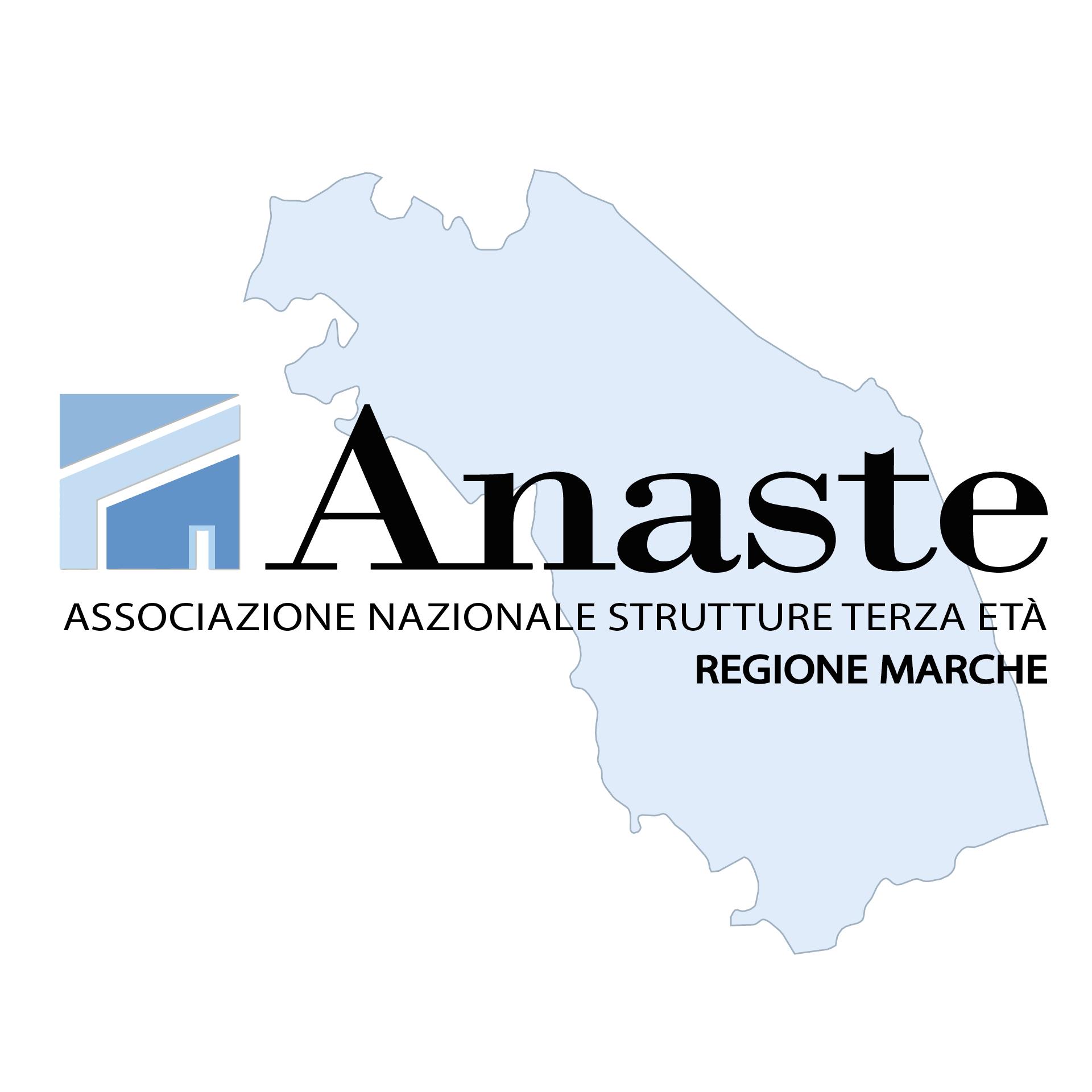Logo Anaste MARCHE Vettoriale