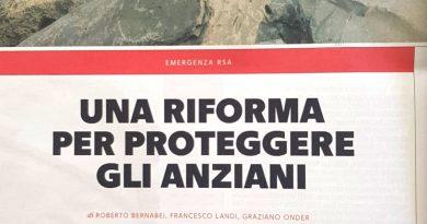 """Articolo su """"Salute"""" di la Repubblica del 26 agosto"""