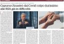 Capurso interviene su Repubblica su riforma e situazione RSA